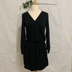 NWT Joie Black Wrap Dress with Elastic Waist